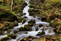Waterfall zadielska dolina vychodne slovensko SLOVAKIA Stock Image