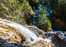 Waterfall Zipfelsbach in the Alps Royalty Free Stock Photo