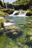 Waterfall at Zrmanja Royalty Free Stock Photography