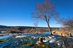 Waterfall at Zrmanja Royalty Free Stock Images