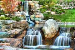 Waterfall2 Royalty Free Stock Photos