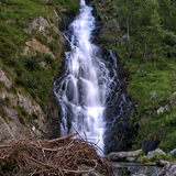 Waterfalls. Nice waterfalls on italian alps Stock Photo