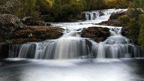 Waterfalls. Small waterfalls that are found in Cradle Mountain area in Tasmania, Australia Stock Image