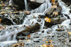 Waterfalls. Famous waterfalls in Harrison BC Canada Royalty Free Stock Photos