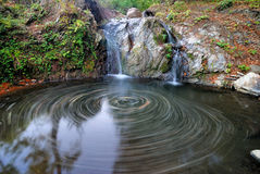 Waterfalls. Mount Goc, vrnjacka banja serbia Royalty Free Stock Images