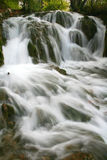 Waterfalls. Wild river stock photography
