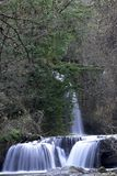 Waterfalls. Smal waterfalls near Rome in a place called Monte Gelato Royalty Free Stock Images
