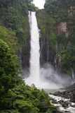 Waterfalls. View of waterfalls in a tropical environment stock image