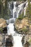 Waterfalls. Tangle Creek waterfalls in Jasper National Park, Alberta, Canada Stock Photos