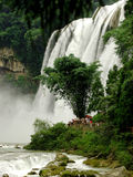 Waterfalls. This phote is maked in huang guo shu garden in guizhou province Stock Image