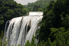 Waterfalls. On the mountains in the guizhou province of china Royalty Free Stock Image