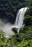 Waterfalls. The name of this waterfalls is HuangGuuoShu in the park of guiyang Royalty Free Stock Photography