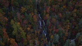 Waterfalls Aerial stock video footage