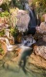 Waterfalls of algar (Fuente de Algar) Royalty Free Stock Images