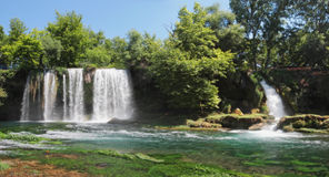Waterfalls in Antalya. Stock Images