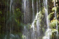 Waterfalls of Argiroupoli, Crete island. Waterfalls at Argiroupoli springs in Crete island, Greece. Area of Lappa Stock Photography