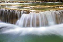 Waterfalls of Asia, Huai Mae Khamin Stock Photo