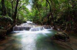 Waterfalls of Asia, Huai Mae Khamin Stock Photography