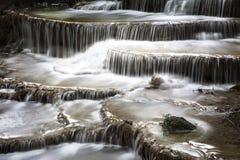 Waterfalls of Asia, Huai Mae Khamin Royalty Free Stock Photography