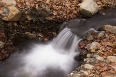 Waterfalls at Autumn Royalty Free Stock Photography
