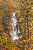 Waterfalls In Autumn Stock Image
