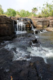 Waterfalls of banfora, burkina faso. The basin of a waterfall of banfora in burkina faso stock photo