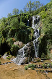 Waterfalls in Baume-Les-Messieurs Stock Images