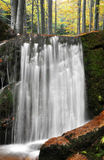 Waterfalls in the Bavarian Forest Stock Images
