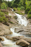 Waterfalls. Beautiful waterfall in deep forest Stock Image