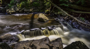 Waterfalls on the Black River, New Jersey Stock Images