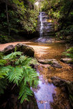 Waterfalls in Blue Mountains national park Stock Image