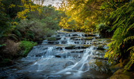 Waterfalls in Blue Mountains national park Stock Photography