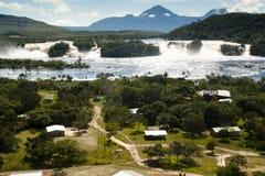 Waterfalls of Canaima Stock Image