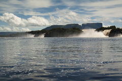 Waterfalls of Canaima Stock Photography