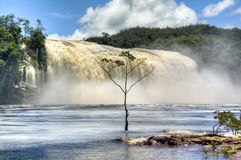 Waterfalls of Canaima Royalty Free Stock Photos