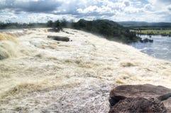 Waterfalls of Canaima Royalty Free Stock Photo