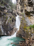 Waterfalls in canyon Stock Photography