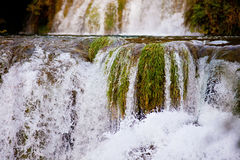 Waterfalls cascade river Stock Image