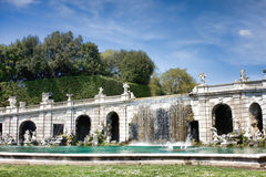 Waterfalls at Caserta Stock Photography