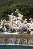 Waterfalls at Caserta Royalty Free Stock Photo