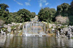 Waterfalls of caserta,Italy Stock Photos