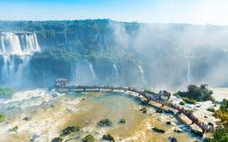 Free Waterfalls Cataratas Foz De Iguazu, Brazil. Top View Stock Photography - 167430282