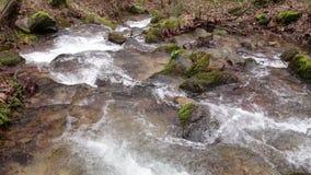 Waterfalls stock video footage