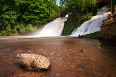 Waterfalls of Coo Royalty Free Stock Photo