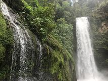Waterfalls Costa Rica, vara blanca Heredia Royalty Free Stock Photography