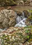 Waterfalls of the creek  Rufabgo Royalty Free Stock Photo