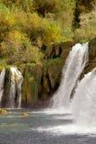 Waterfalls, Croatia Stock Images