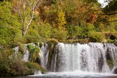 Waterfalls, Croatia Stock Image