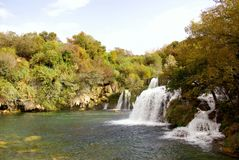 Waterfalls, Croatia Stock Photography