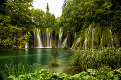 Waterfalls in Croatia, Plitvice Stock Image